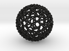 Geodesic Dome Weave Knot in Black Strong & Flexible