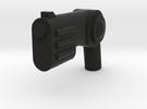 Minifig Gun 10 in Black Strong & Flexible