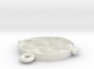 Viking Spiral Pendant in White Strong & Flexible