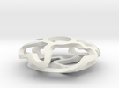 Vine Disc in White Strong & Flexible