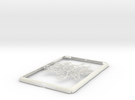 Ipad-cover-marios in White Strong & Flexible