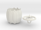 candleholder in White Strong & Flexible