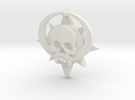 Skull symbol (small) in White Strong & Flexible