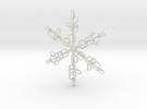 Snowflake X-Mas 2011 in White Strong & Flexible