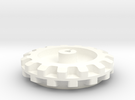 Pololu 15 Cog Wheel For Motor in White Strong & Flexible Polished