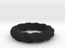 Torque Ring Size 23 in Black Strong & Flexible