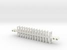 Caterpillar5 in White Strong & Flexible