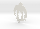Hulk artwork in White Strong & Flexible