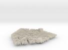 Cesaro Snowflake - 1 in White Acrylic