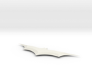 6 In Batarang in White Strong & Flexible