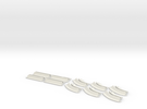 Oval Set v2 in White Strong & Flexible