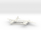 1/600 Antonov AN 12 Shaanxi Y8 x2 in White Strong & Flexible