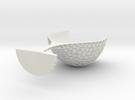 Goblet4-obj in White Strong & Flexible