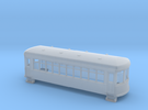 N gauge short trolley car  in Frosted Ultra Detail