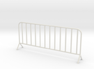 1:24 Scale- Fence panel in White Strong & Flexible