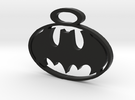 BATMAN pendant in Black Strong & Flexible