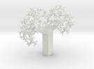 Skew Fractal Tree (Wild) in White Strong & Flexible
