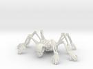 Skeleton spiderMan in White Strong & Flexible
