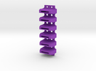R2 Coin Slots SEMI-SOLID in Purple Strong & Flexible Polished