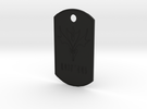 DogTags in Black Strong & Flexible