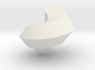 deadly pentagon shell - seashell in White Strong & Flexible