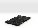 TA 4S avio parts 002 A1 12pcs in Black Strong & Flexible