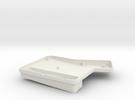 ErgoDox Bottom Right Case (double slope) in White Strong & Flexible