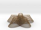 flowerStack 1 in Matte Gold Steel