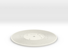 Stairway to Heaven - Fisher Price record (3mm) in White Strong & Flexible