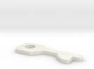 chubb high security handcuff key in White Strong & Flexible