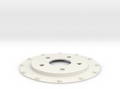 Brake Disc (Part 3) in White Strong & Flexible