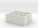 Container2x in White Strong & Flexible
