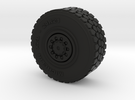 Military wheel for heavy truck in Black Strong & Flexible