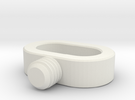 acc stl   STRAP SCREW 1 in White Strong & Flexible