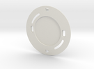 YingYang smoke detector (base) in White Strong & Flexible
