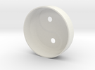 YingYang smoke detector (top) in White Strong & Flexible