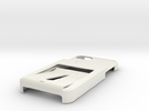 Tank Tri iphone 5 case w/ 3 CC 1ID holder Custom in White Strong & Flexible