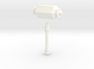Kalix Hammer in White Strong & Flexible Polished