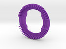 LED Heatsink Ring 110212 in Purple Strong & Flexible Polished
