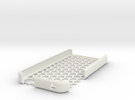 iPhone 4s honeycomb case in White Strong & Flexible