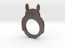 Totoro 2D Ring - Size 8 in Stainless Steel