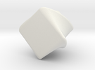 Knob, Cabinet, 1/4-20 in White Strong & Flexible