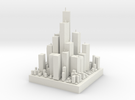 Micro City in White Strong & Flexible
