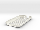 honey Comb Galaxy S3 case (repaired) in White Strong & Flexible