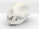 Cat Skull 1.5 Inches in White Strong & Flexible