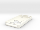 Simba Iphone 4 Case in White Strong & Flexible Polished