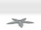 Shuriken 50 mm in Polished Metallic Plastic