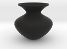 Flower Vase in Black Strong & Flexible