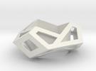 Hexagonal Torus Skeleton in White Strong & Flexible