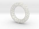 Cell Bracelet in White Strong & Flexible
